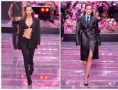 بيلا وجيجى حديد بعرض أزياء فرساتشى للرجال بأسبوع الموضة فى ميلانو 2020