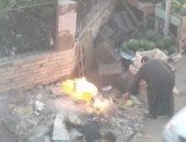 قارئ يشكو انتشار القمامة بشوارع حوش عيسى بالبحيرة