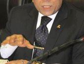 المستشار خالد محجوب يلقى محاضرة حول مكافحة الإرهاب بجامعة القاهرة