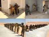 استمرار فعاليات التدريب المشترك لدول تجمع الساحل والصحراء بقاعدة محمد نجيب