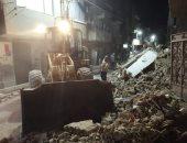 إصابة سيدة فى انهيار منزل بمدينة بنى سويف