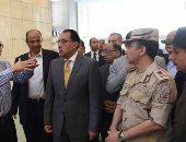 رئيس الوزراء يتفقد متحف الحضارة وأعمال تطوير الفسطاط وبحيرة عين الصيرة