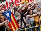 مظاهرات حاشدة فى برشلونة تأييدا لانفصال كتالونيا عن اسبانيا