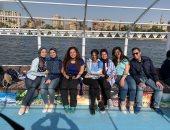 """""""النيل شال عنا كتير""""..مشروع تخرج لطلاب إعلام لحماية النهر من التلوث"""