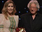 مهرجان السينما التونسية يمنح عائشة بن أحمد جائزة العصفور الذهبي