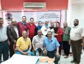 صور.. تضامن الإسكندرية تنظم دورة تدريبية للمشرفين على الحج