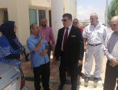 حسين زين فى جولة تفقدية بجنوب سيناء لتقوية البث قبل أمم أفريقيا