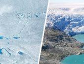 كارثة.. ذوبان 2 مليار طن من الجليد خلال أسبوع فى جرينلاند.. باحث: معدل الانصهار غير عادى.. متخصص بشئون المناخ: 2019 سيكون عام لذوبان أطنان هائلة من الثلوج.. وتحذيرات من ارتفاع هائل فى مستويات مياه البحار
