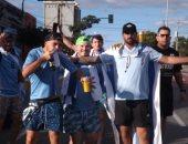 """جماهير أوروجواي تتوافد على ملعب """"ماجاليس"""" قبل لقاء الإكوادور.. صور"""