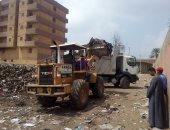رفع 2000 طن قمامة من شوارع القليوبية فى الفترة الصباحية
