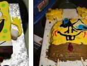 """ادى الكيك لخبازه.. صور لمحاولات فاشلة لصنع """"تورتة"""" بأشكال مختلفة"""