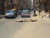 صور.. اضبط مخالفة.. بلاعات الصرف بون غطاء بشارع الغشام فى الزقازيق