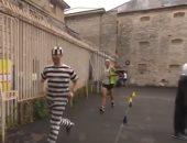 شاهد.. أقدم سجن فى المملكة المتحدة يحتضن سباق ماراثون بمشاركة 100 متسابق