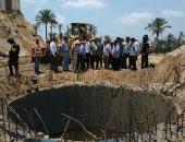 صور.. محافظ البحيرة : الانتهاء من مشروع الصرف برشيد مارس 2020