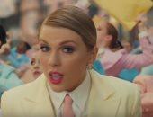 """فيديو وصور.. تايلور سويفت تحصد 211 مليون مشاهدة بكليب """"ME"""""""