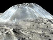 """ناسا تلتقط صورة مثيرة للدهشة لجبل غريب على كويكب """"سيريس"""""""