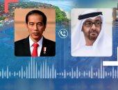 ولى عهد أبو ظبى يبحث هاتفيا مع رئيس إندونيسيا علاقات التعاون بين البلدين