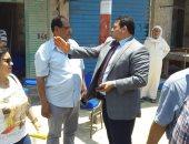صور .. رئيس حى المنتزه يتفقد مشروعات رفع كفاءة البنية التحتية