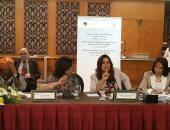 منال عوض محافظة دمياط رئيسة فرع شبكة النساء المنتخبات بأفريقيا فى مصر