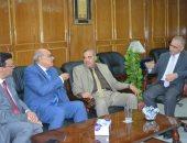 صور.. رئيس جامعة الأزهر يفتتح الأسبوع الوطنى الخامس للتنمية المستدامة