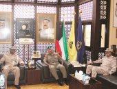 رئيس أركان الكويت بحث مع قائد قوات الصومال المواضيع ذات الاهتمام المشترك