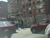 فيديو وصور.. شلل مرورى بدائرى المريوطية بسبب انقلاب سيارة نقل