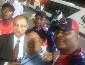 بعثة منتخب الكونغو تصل إلى مطار القاهرة