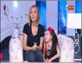 """ريهام سعيد تحقق رغبة طفلة مريضة بالظهور معها فى استوديو """"صبايا"""""""