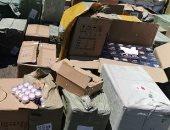 التحفظ على 4 ملايين عبوة مستحضرات تجميل مجهولة المصدر بالإسكندرية
