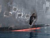 """صور جديدة لـ""""البنتاجون"""" تكشف تورط إيران بضرب ناقلات النفط فى خليج عمان"""
