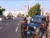 أمم أفريقيا.. شاهد انتشار رجال الشرطة بمحيط استادات البطولة