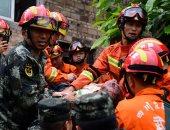 صور.. مصرع 6 أشخاص وإصابة 75 آخرين فى زلزال بقوة 6 درجات بالصين