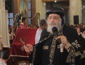 صور.. البابا تواضروس يترأس صلاة العشية بكنيسة الأنبا تكلا بالإسكندرية