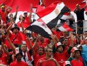شاهد توافد الجماهير على استاد القاهرة لمتابعة لقاء مصر وزيمبابوى