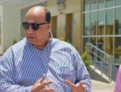 محمد مصيلحى يحضر تدريب الاتحاد السكندرى استعدادًا لمواجهة الأهلى