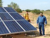 استخدام الطاقة الشمسية لرى الوحدات الرعوية ببرانى الأولى فى مطروح