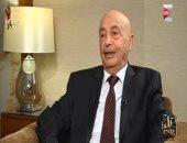 غبدبو.. عقيلة صالح : موقف مصر والرئيس السيسى داعم لإرادة الشعب الليبى