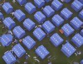 فيديو.. 10 آلاف مواطن صينى يعيشون فى ملاعب المدارس بعد زلزال بقوة 6 درجات