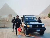 حملة لإزالة الإشغالات بمدينة 6 أكتوبر والمنطقة الأثرية بالهرم