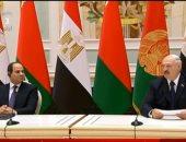 رئيس بيلاروسيا: مصر من أهم الشركاء بمنطقة الشرق الأوسط وأفريقيا.. فيديو