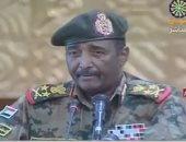 رئيس مجلس السيادة السودانى يصل جوبا للمشاركة فى محادثات مع الحركات المسلحة