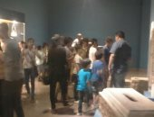 شاهد.. جولات إرشادية لطلاب مراكز الشباب فى متحف ملوى