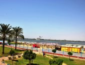 صور.. المدن الساحلية تستعد لكأس الأمم الإفريقية.. وشاشات عرض كبيرة للمباريات
