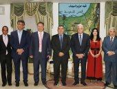 محافظ جنوب سيناء يلتقى بوفد من رجال الاعمال اليونانيين