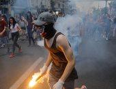 صور.. مئات الطلاب يتظاهرون فى صربيا بعد تسريب الامتحانات على مواقع التواصل