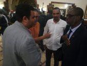 منتخب موريتانيا ثانى منتخبات المجموعة الخامسة يصل العين السخنة