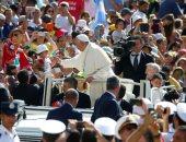 البابا فرنسيس يترأس القداس الأسبوعى فى الفاتيكان