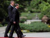 السيسى: العلاقات التجارية مع رومانيا تخطت المليار دولار
