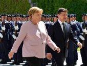استياء ألمانى حول تصريحات الرئيس الأوكرانى حول ميركل
