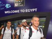 صور.. المنتخب التونسى يصل القاهرة للمشاركة فى أمم أفريقيا